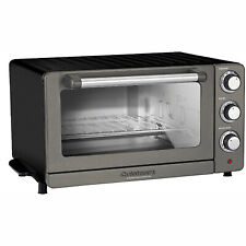 Cuisinart Toaster Oven Broiler with Convection - Black Stainless TOB-60N1BKS2