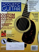 Acoustic Guitar Magazine March 2009 Joan Baez Working with Steve Earle m568