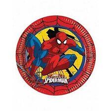 Artículos de fiesta azules de cumpleaños infantil, Spider-Man