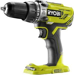 Ryobi Genuine R18PD3- ONE+ 18V Cordless Compact Hammer Drill (Body Only) BNIB
