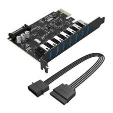 USB3.0 Expansion Card Desktop Computer Pci-e Expansion Card One With 7 Chassis