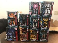 Transformers Earthrise Kingdom Lot Of 10 New Hoist Trailbreaker Inferno Scourge