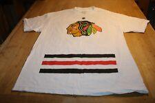 Chicago Blackhawks Reebok Clark Griswold Jersey T-shirt Christmas Story sz large