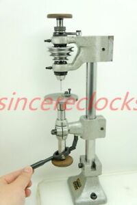 Watchmakers Lathe with Sensitive Drill Attachment