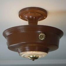 Vintage Drop Down Ceiling Light Fixture