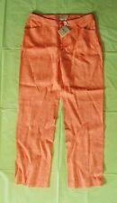 Bobby Jones Nectarine Casual / Golf Pants, Size 4, Button Zip Closure, NWT