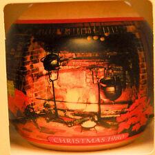 Hallmark - Christmas At Home - Glass Ball 1980 - Keepsake Ornament