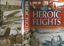 HEROIC FLIGHTS by John Frayn Turner 2003 1st Edition Hc Dj  HISTORY of AVIATION