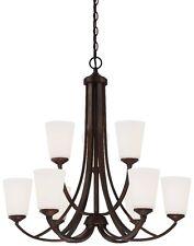 Minka Lavery 4969-284 Overland Park 9-Light 2-Tier Chandelier - Vintage Bronze