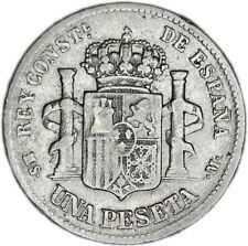 SPAIN coin 1 Peseta 1883