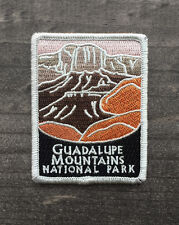 Guadalupe Mountains National Park Souvenir Patch Traveler Series Iron-on Texas