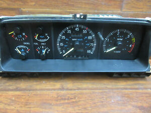 Ford F-150, F-250, F-350: 1987 - 1996, Speedomer - Cluster, WITH TACH, No.14