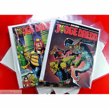 Judge Dredd Titan COMIC BAGS for Annuals Issues & Graphic Novels Size2 x 100.
