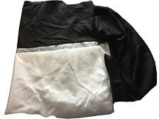 * Mainstays Solid Bed Skirt Queen Dust Ruffle Black