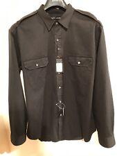 Designer Ralph Lauren Black Label Jeans Uomo Camicia Taglia: XL NUOVO