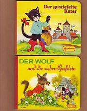 Felicitas Kuhn Elfriede Türr Der gestiefelte Kater/ Wolf und die sieben Geißlein