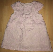Baby girls pink/gold dress for 3-6 months from Mothercare - good condition