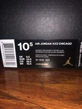 Nike Air Jordan XX3 Chicago Size 10.5 Deadstock