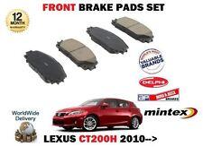 pour Lexus CT200h 1.8 hybride 2010- > NEUF AVANT KIT DE DISQUES DE FREIN
