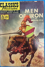 Classics Illustrated #88 Men of Iron by Howard Pyle (Hrn 154)