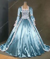 Renaissance Fair Princess Cinderella Ball Gown Dress Theater Clothing N 150 L