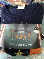 ALDI Kevin the Carrot Christmas Jumpers