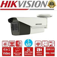 HIKVISION 2K 5MP Bullet Camera Motorised Vari-focal EXIR 4in1 Video IP67 Outdoor