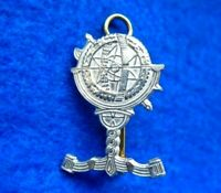 POPSKI'S PRIVATE ARMY NUMBER 1 DEMOLITION SQUADRON PPA CAP BADGE UK MADE REPRO