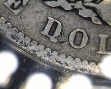 DONKEY TAIL ANACS VG4 TOP 100 VAM 25A 1887 P MORGAN SILVER DOLLAR U.S. COIN