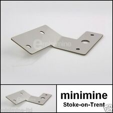 Classic Mini Rear Fog Light Bracket Stainless Steel R/H o/s rover mount cooper s