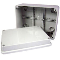 OUTDOOR Waterproof PVC adaptable boxes IP55 enclosures - CHOOSE YOUR SIZE