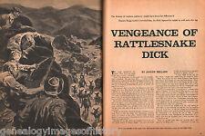 Vengenance of Rattlesnake Dick Barter vs John Boggs
