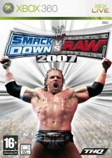 WWE SmackDown vs. Raw 2007 XBox 360 NEW And Sealed Original Release not class
