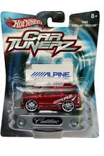 2002 Hot Wheels Car Tunerz 2002 Cadillac Escalade Red