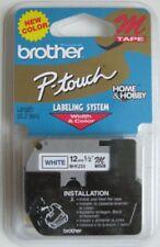 Brother MK233 M 12mm blue on white P-touch tape PT55 PT65 PT70 PT80 PT85 M233