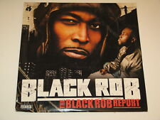 "BLACK ROB the black rob report Lp 12""x2 RECORD SET NOTORIOUS B.I.G. AKON"