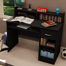 Black Desk Student Workstation with Hutch and Drawer - New and FREE SHIPPING