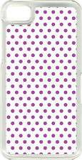 Different Color Small Polka Dot Designs on Blackberry Z10 TPU Hard Case Cover