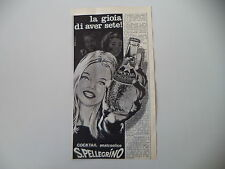 advertising Pubblicità 1965 COCKTAIL ANALCOLICO SAN S. PELLEGRINO