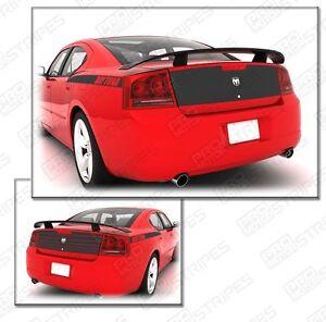 Dodge Charger 2006-2010 Daytona Trunk Deck Blackout Stripe Decal (Choose Color)