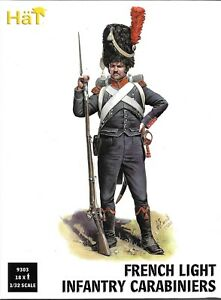 HäT/HaT Napoleonic Wars French Light Infantry Carabiniers - 1/32 Scale (54mm)