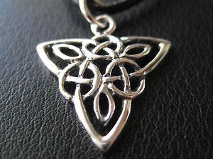Keltischer Knoten 925'er Silber Ketten Anhänger  / KA 842