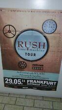 RUSH Tour Poster Frankfurt  2011