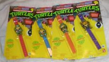 Teenage Mutant Ninja Turtles Kid's Watch Complete Set of 4 MINT IN PACKAGE