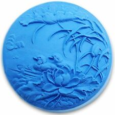mandarin duck in lotus pond 0999 Craft Art Silicone Soap mold Craft Molds DIY...