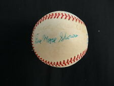 (10) New York Yankees Old-Timers Multi-Signed Baseball Auto PSA/DNA AC02140