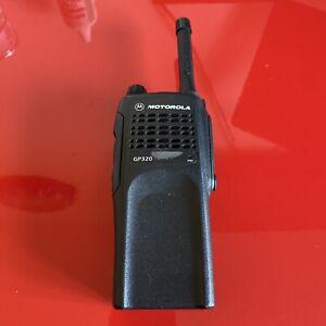 Motorola GP320 UHF Radio - Radio Walkie Talkie - Replacement - Working - Good