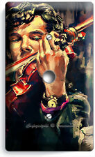 Sherlock Holmes Violin Benedict Cumberbatch Light Dimmer Cable Cover Room Decor