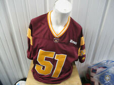 Vintage Majestic Minnesota Golden Gophers #51 Sewn Xl Football Jersey Pre-Owned