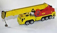 Corgi crane Lorry Wolf Diecast Yellow Truck Toy Model Vintage auto city large